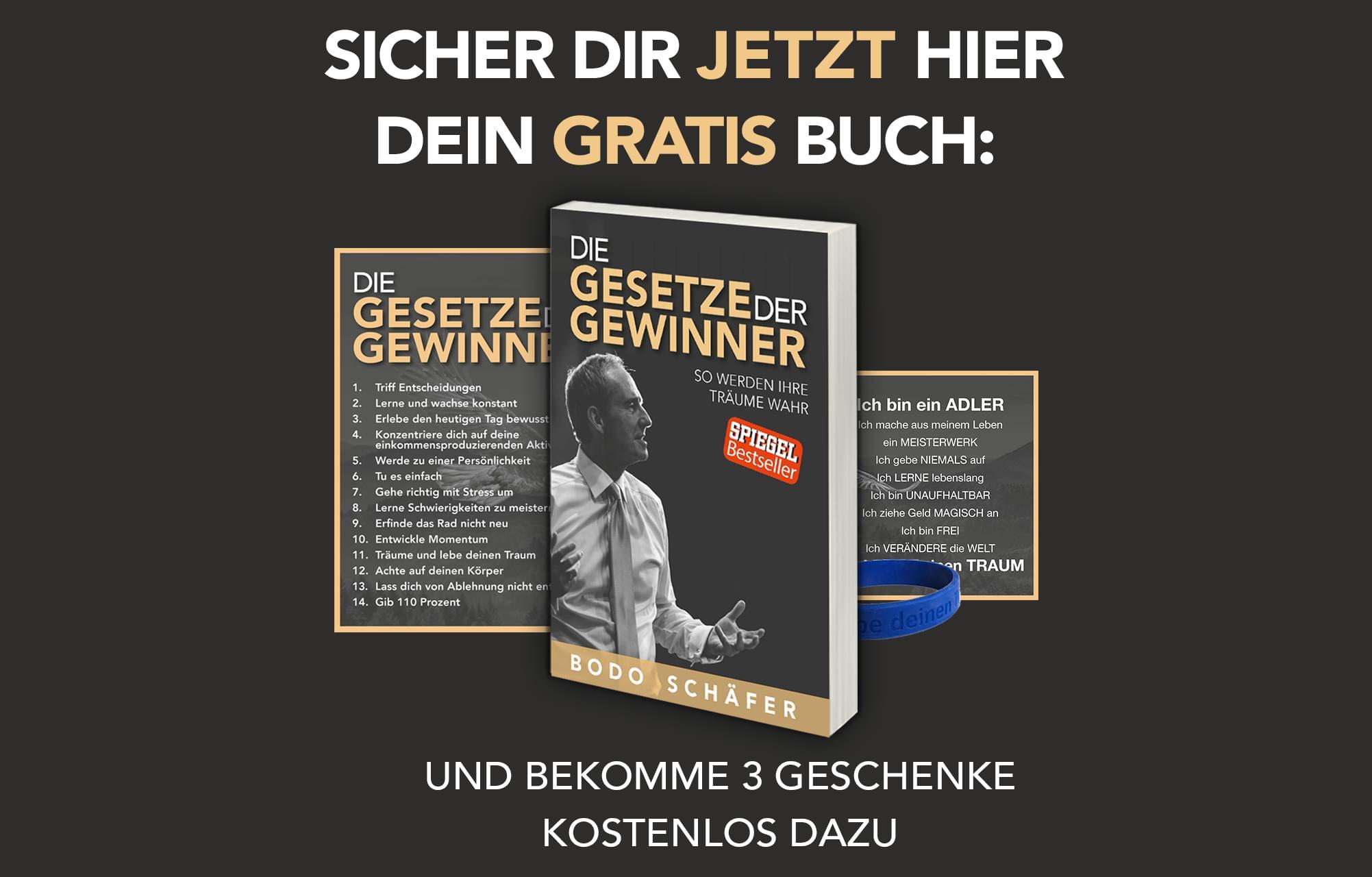 Die Gesetze der Gewinner – Bücher – Produkte – Bodo Schäfer. Buchempfehlung: Die Gesetze der Gewinner